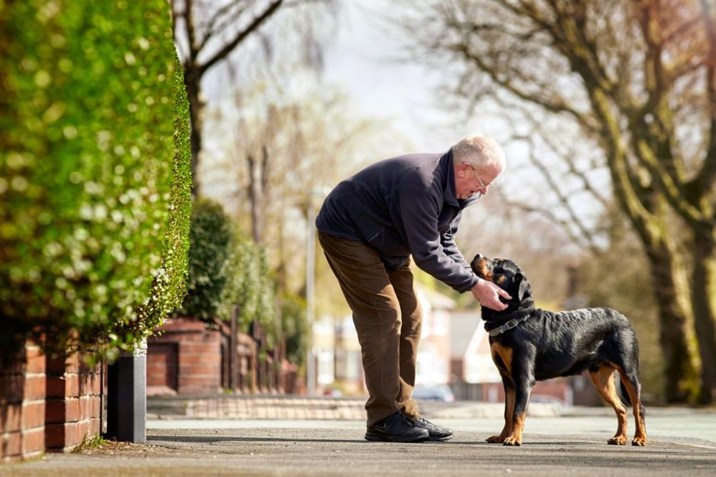 COPD- eli keuhkoahtaumatautipotilas ja koira
